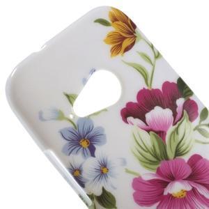 Gelový kryt na HTC One mini 2 - květiny - 2