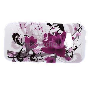 Gelový kryt na HTC One mini 2 - lotusový květ - 2
