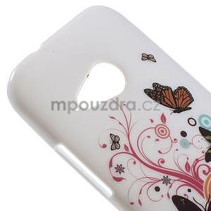 Gelový kryt na HTC One mini 2 - motýlkové - 2