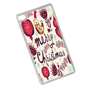 Vánoční edice gelových obalů na Huawei Ascend P8 - Merry Christmas - 2