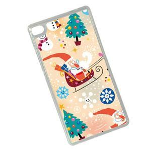 Vánoční edice gelových obalů na Huawei Ascend P8 - Santa - 2