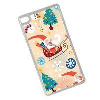 Vánoční edice gelových obalů na Huawei Ascend P8 - Santa - 2/2