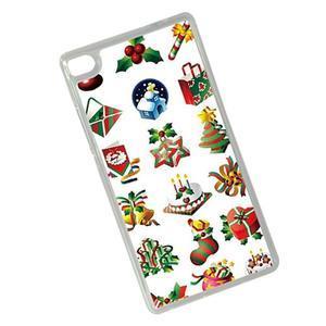 Vánoční edice gelových obalů na Huawei Ascend P8 - Vánoce - 2
