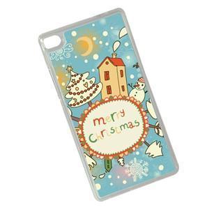 Vánoční edice gelových obalů na Huawei Ascend P8 - Christmas - 2
