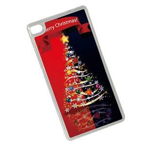 Vánoční edice gelových obalů na Huawei Ascend P8 - stromeček - 2