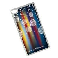 Vánoční edice gelových obalů na Huawei Ascend P8 - třpytivé baňky - 2/2