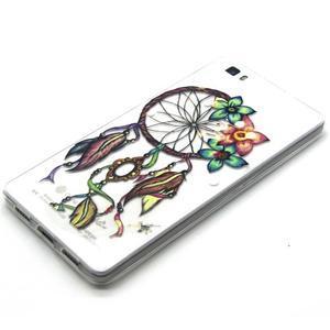 Transparentní gelový obal na Huawei Ascend P8 Lite - snění - 2