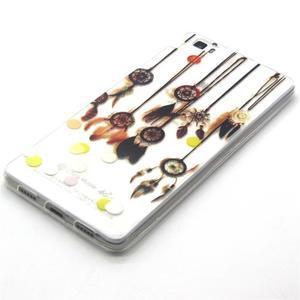 Transparentní gelový obal na Huawei Ascend P8 Lite - dream - 2