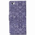 Pouzdro na mobil Huawei P8 Lite - textury květin - 2/7