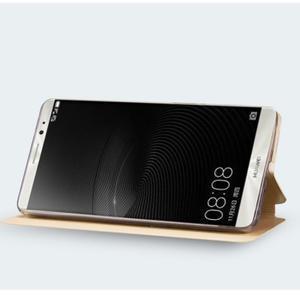 Vintage PU kožené pouzdro na mobil Huawei Mate 8 - černé - 2