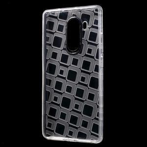 Square gelový obal na Huawei Mate 8 - transparentní - 2