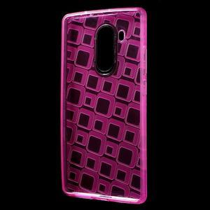 Square gelový obal na Huawei Mate 8 - rose - 2