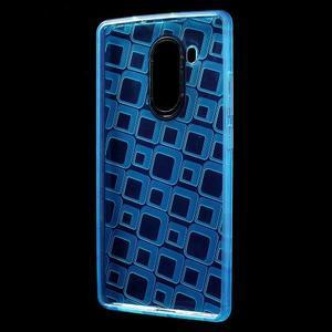 Square gelový obal na Huawei Mate 8 - modrý - 2