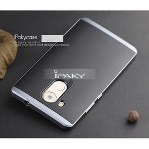 Odolný obal 2v1 s výstuhami na Huawei Mate 8 - šedý - 2