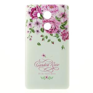 Softy gelový obal na mobil Huawei Mate 8 - růže - 2