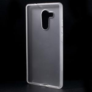 Matný gelový obal na Huawei Mate 8 - transparentní - 2