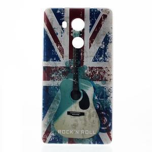 Softy gelový obal na mobil Huawei Mate 8 - UK vlajka - 2