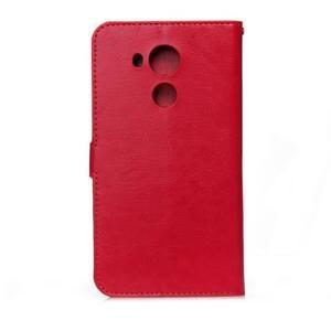 Peněženkové pouzdro na Huawei Mate 8 - červené - 2
