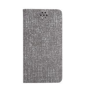 Style knížkové pouzdro na mobil Huawei Mate S - šedé - 2