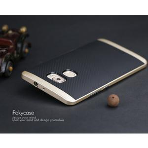 Odolný hybridní obal 2v1 na Huawei Mate S - zlatý - 2