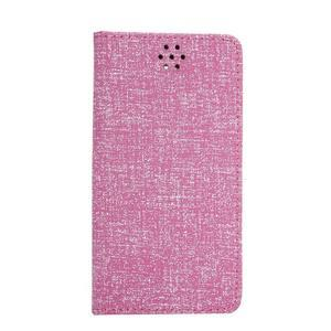 Style knížkové pouzdro na mobil Huawei Mate S - rose - 2