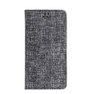 Style knížkové pouzdro na mobil Huawei Mate S - černé - 2