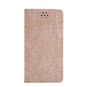 Style knížkové pouzdro na mobil Huawei Mate S - oranžovohnědé - 2