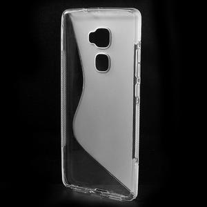 S-line gelový obal na mobil Huawei Mate S - transparentní - 2