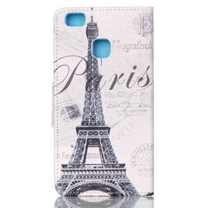 Patter PU kožené pouzdro na mobil Huawei P9 Lite - Paris - 2