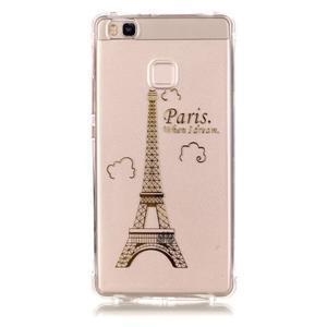 Lacqe gelový obal na Huawei P9 Lite - Eiffelova věž - 2