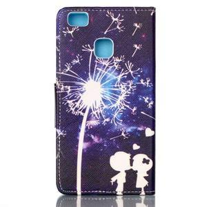 Patter PU kožené pouzdro na mobil Huawei P9 Lite - láska - 2