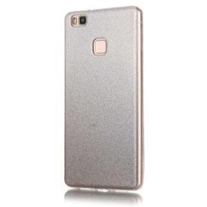 Gradient třpytivý gelový obal na Huawei P9 Lite - šedý - 2