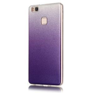 Gradient třpytivý gelový obal na Huawei P9 Lite - fialový - 2