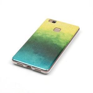 Gradient třpytivý gelový obal na Huawei P9 Lite - mix barev II - 2