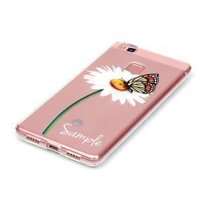 Transparentní obal na telefon Huawei P9 Lite - sedmikráska - 2