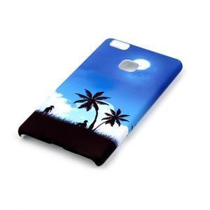 Shelly plastový obal na mobil Huawei P9 Lite - palmy - 2