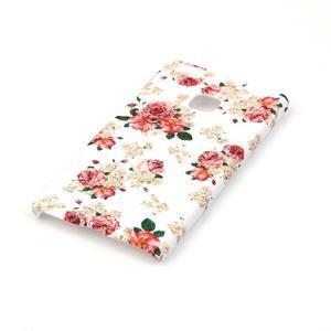 Shelly plastový obal na mobil Huawei P9 Lite - květiny - 2