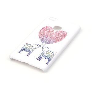 Shelly plastový obal na mobil Huawei P9 Lite - zamilovaní sloni - 2