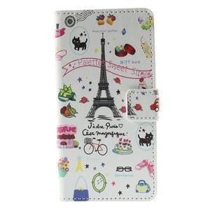 Peněženkové pouzdro Huawei Y635 - Eiffelova věž - 2