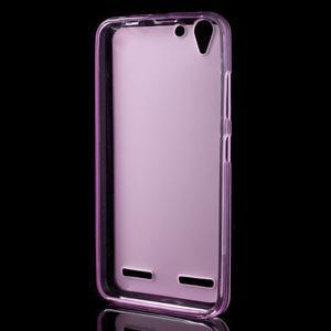 Matný gelový obal na mobil Lenovo Vibe K5 / K5 Plus - růžový - 2