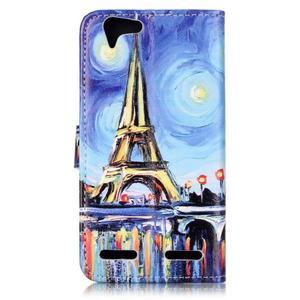 Knížkové pouzdro na mobil Lenovo Vibe K5 / K5 Plus - Eiffelova věž - 2