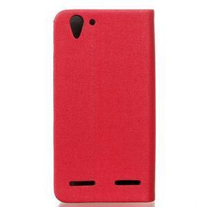 Klopové pouzdro na Lenovo Vibe K5 / K5 Plus - červené - 2