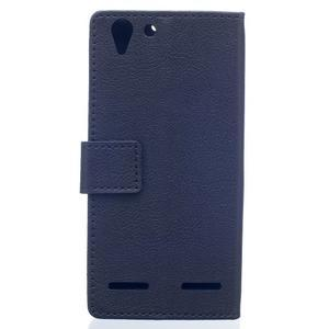 Peněženkové pouzdro na Lenovo Vibe K5 / K5 Plus - černé - 2