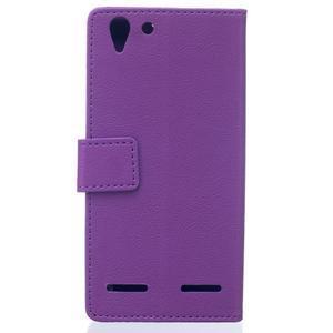Peněženkové pouzdro na Lenovo Vibe K5 / K5 Plus - fialové - 2