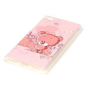 Softy gelový obal na mobil Lenovo P70 - medvídek - 2