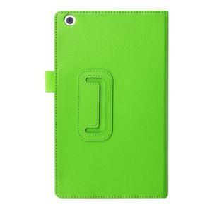 Dvoupolohové pouzdro na tablet Lenovo Tab 2 A8-50 - zelené - 2