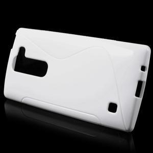 S-line gelový obal na LG Spirit 4G LTE - bílý - 2