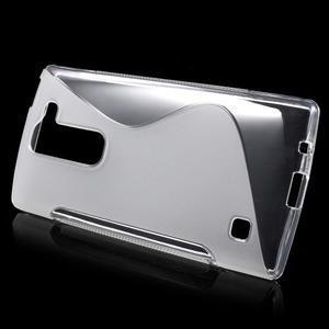 S-line gelový obal na LG Spirit 4G LTE - transparentní - 2