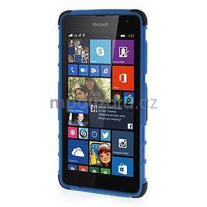Vysoce odolný obal pro Microsoft Lumia 535 - modrý - 2
