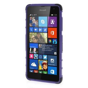 Vysoce odolný obal pro Microsoft Lumia 535 - fialový - 2
